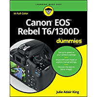 Canon EOS Rebel T6/1300D For Dummies (For Dummies (Lifestyle)) book cover