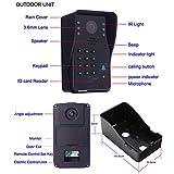 Diamondo WOSHIJIE HD Video Intercom Doorbell Villa Type One 7 Inch Building Intercom