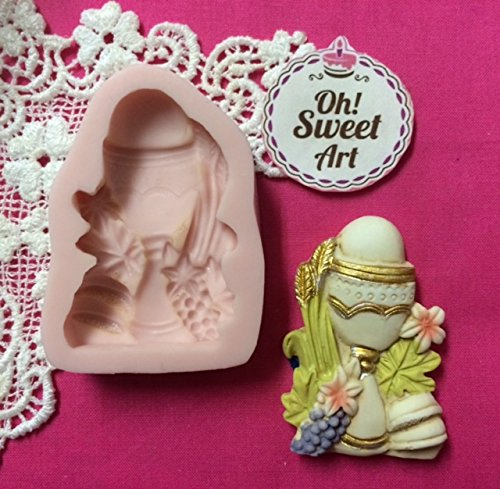 First Communion Chalice II Silicone Mold By Oh! Sweet Art...