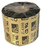 .Zebra. Z-4100 Resin Ribbon Single Pack 04100bk06045 Black Pack 60mm x 450m