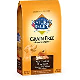 Nature's Recipe Grain Free Easy to Digest Chicken, Sweet Potato & Pumpkin Recipe Dry Dog Food, 4-Pound