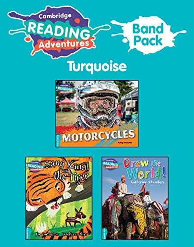 Cambridge Reading Adventures Turquoise Band Pack of 8