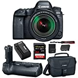 Canon EOS 6D Mark II DSLR Camera with 24-105mm f/3.5-5.6 Lens + Canon BG-E21 Battery Grip 64GB SD Card SLR Bag & Battery with Charger Advanced Travel Kit Review