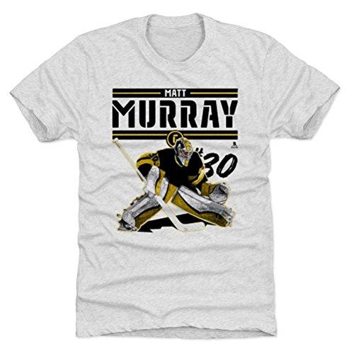 500 LEVEL Matt Murray Premium Shirt Small Tri Ash - Pittsburgh Hockey Fan Apparel - Matt Murray Play K