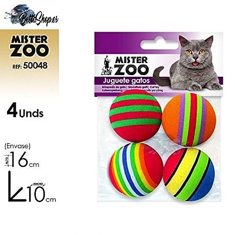 JUGUETES PARA GATOS PELOTAS PARA GATO: Amazon.es: Productos para mascotas