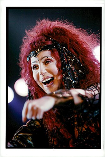 [Vintage photo of Cher performs at the Omnisports Arena] (Cher Believe Costume)