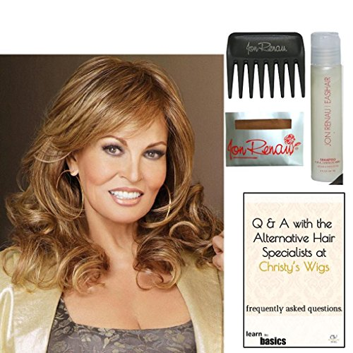 Bundle - 5 items: Always Wig by Raquel Welch, 15 Page Christy's Wigs Q & A Booklet, Wig Shampoo, Wig Cap & Wide Tooth Comb Color Selected: RL14/25 by Raquel Welch & Christy's Wigs