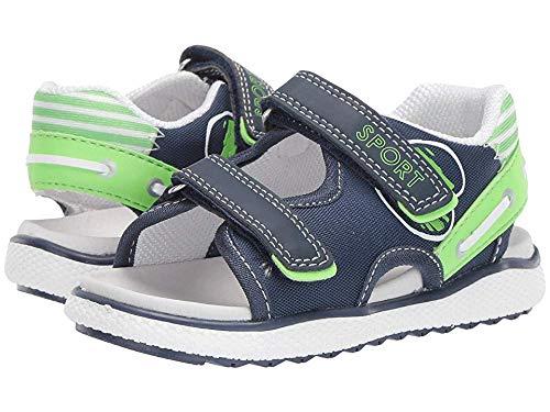 Naturino Boys Randall. Open Toe Sandals Multicolour (Navy/Verde Fluo' 1c38) 7.5 UK 7.5UK Child ()