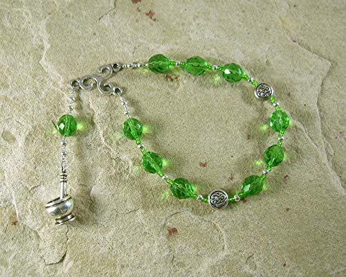 Airmed (Airmid) Pocket Prayer Beads: Irish Celtic Goddess of Herbs and - Goddess Prayer Beads