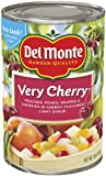 Del Monte Very Cherry Mixed Fruit in Natural Cherry Flavored Light syrup, 15-Ounce (Pack of 8)