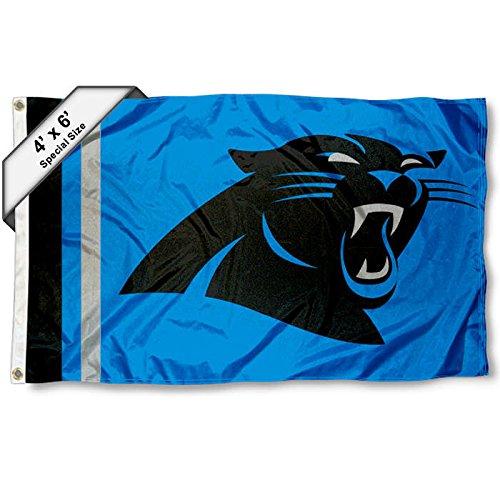 Carolina Panthers 4 ' x 6 '足フラグ   B01FRPGMJK