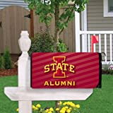 VictoryStore Yard Sign Outdoor Lawn Decorations: Iowa State University Magnetic Mailbox Cover (Design 1).
