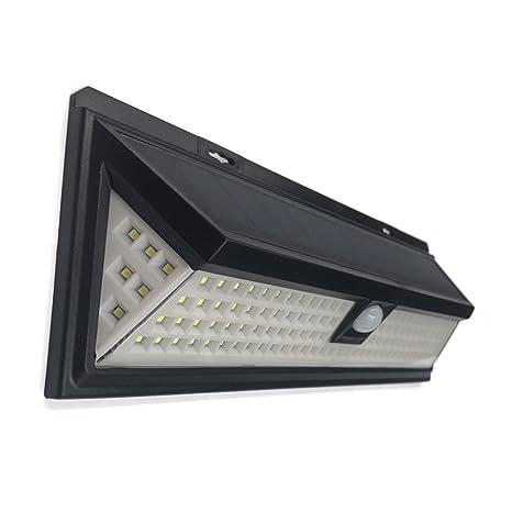 yunt Solar Detector de movimiento – Lámpara solar, Nueva Generación Luz solar con 118 LED