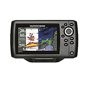 Humminbird 410210 1 helix 5 chirp gps g2 fish for Phone fish finder