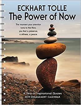 the power of now 2019 wall calendar a year of inspirational quotes