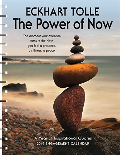 The Power of Now 2019 Engagement Datebook Calendar