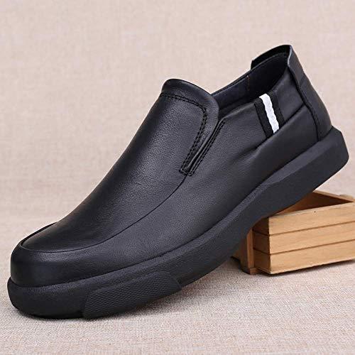 Chaussures De Confortables Pour Taille Noir Oudan Noir 41eu Ville Hommes Derby coloré AqdFH4wH