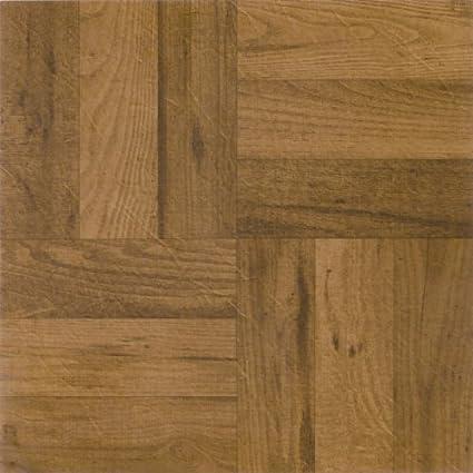 Achim Imports Ftvwd22545 Tivoli 3 Finger Medium Oak Parquet Self