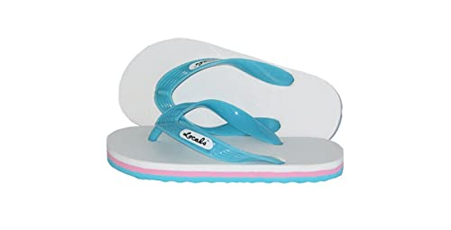 619478677941 Locals White Youth Slipper - Size 8.5 quot  ...