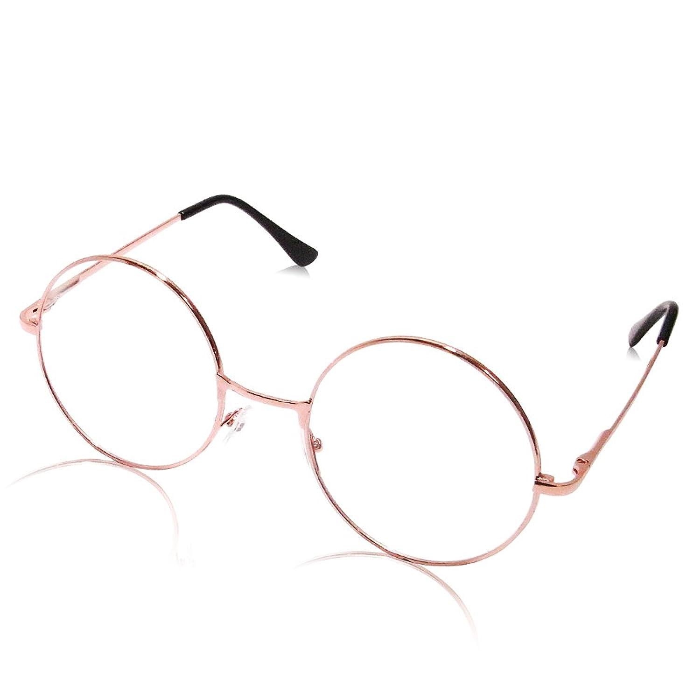 LIBERTA リベルタ 丸メガネ 丸眼鏡 伊達眼鏡 レディースの画像