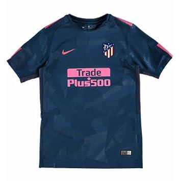 Nike Atlético de Madrid Camiseta, niños, Verde/Rosa, 12-13 años: Amazon.es: Deportes y aire libre