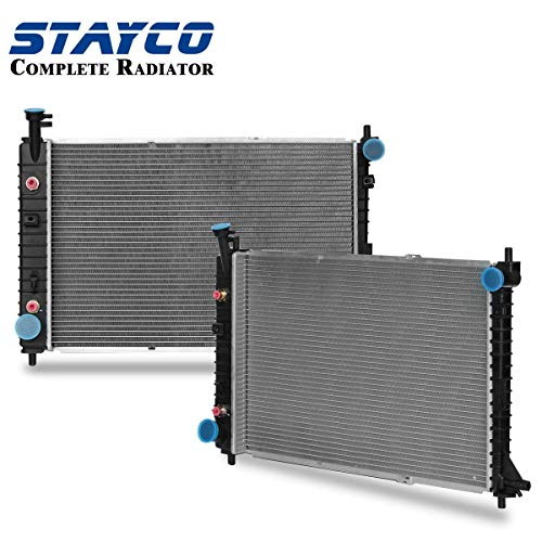 CU2138 Radiator Replacement for ford Mustang 1997 1998 1999 2000 2001 2002 2003 2004 3.8L V6 ()
