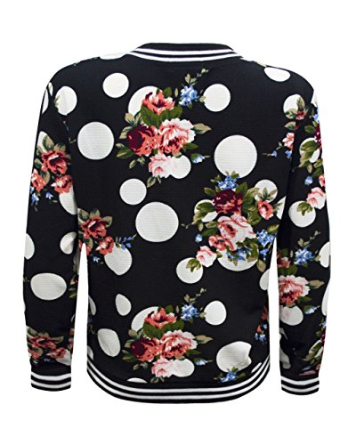 Donna Fashion Giacca Floral Hipster Polka Destination Dot 1tSxSnHz
