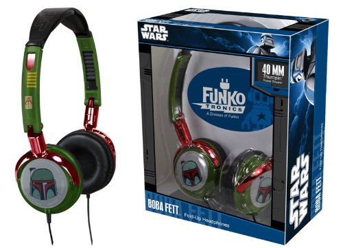 Funkotronics Falten-Up Kopfhorer - Star Wars  Boba
