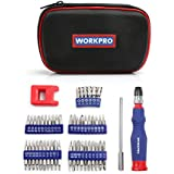 WORKPRO 69-in-1 Precision Screwdriver Kit with Quick Load Screwdriver Handle Magnetizer and Demagnetizer