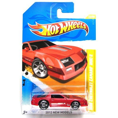MATTEL Hot Wheels Camaro Z 28 1996 449 Orange W 5 Spokes