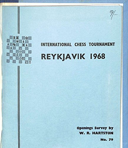 International Chess Tournament, Skopje, 1968; (The Chess Player series) William R Hartston