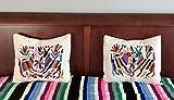 Pair of Otomi Pillow shams 50 x 55 cm/ 20 x 21.5 inch