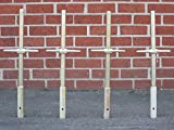 CBM 4 New Scaffolding 24'' X 1-3/8'' Galvanized Screw Socket Jacks CBM1290