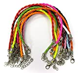 ALL in ONE Mixed Color Braided Leather Cord - Best Reviews Guide