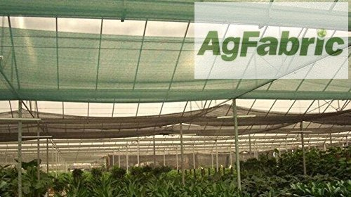 Agfabric 70%~80% 10ft X 30ft Green Sunblock Shade Cloth for Plant Cover, Greenhouse, Barn or Kennel, Pool, Pergola or Carport, Cut Edge UV Resistant Fabric (Pergola Patio Building A A Over)