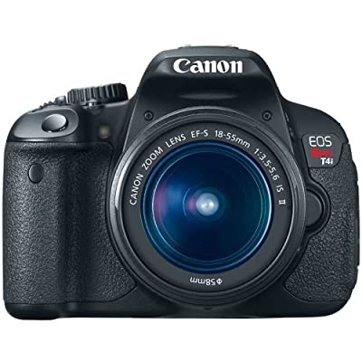 Canon EOS Rebel T4i 18.0 MP CMOS Digital SLR with 18-55mm EF-S IS II Lens from Canon