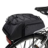 COTEetCI Mountain Road Bike Saddle Bicycle Cycling Rear Seat Rack Trunk Bag Pack Pannier Carrier Shoulder Bag