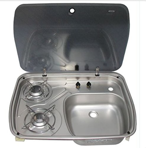 rv cooktop sink - 2