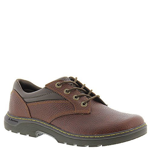 Brown Tumbled Leather Air (Dr. Martens Men's Prestige Teak Pitstop 8 UK)