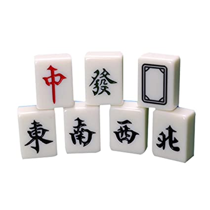 Amazon.com: Hexiansheng Mahjong portátil; Mahjong clásico de ...