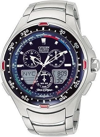 Amazon.com: Citizen Mens JR4010-51L Eco-Drive Stars & Stripes Watch: Citizen: Watches