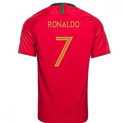 c55302b2ebef2 2018-2019 Portugal Home Nike Womens Football Soccer T-Shirt Camiseta  (Cristiano Ronaldo