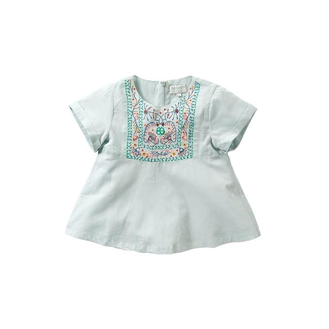 Room Seven - Blusa - para niña azul turquesa 6 años