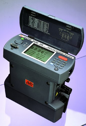 Megger DLRO10X Digital Microhmmeter with Data Storage and Downloading by Megger