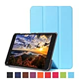 "Bestdeal® High Quality Ultra Slim Lightweight Smart Cover Stand Case for Xiaomi Mi Pad 2 7.9"" inch Tablet PC + Screen Protector and Stylus Pen (Sky Blue)"