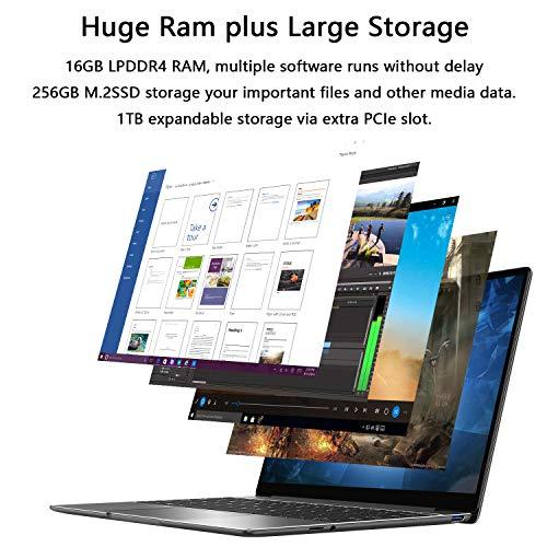 """CHUWI CoreBook X 14"""" Laptop, Intel Core i5 Processor 16GB RAM 256GB SSD 2160 x 1440 Pixels Backlit Keyboard USB-C Dual Wi-Fi BT4.2 Thin and Lightweight Windows 10 Notebook Computer"""