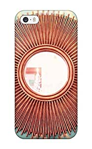 Defender Case For Iphone 5/5s, Copper Sunburst Mirror Pattern