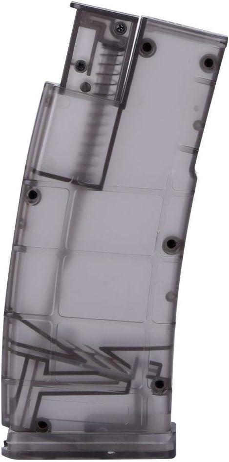 Huenco Tatcial BB Speed Loader M4 Manivela mag Airsoft Loader 6mm 1000rd Color Transparente