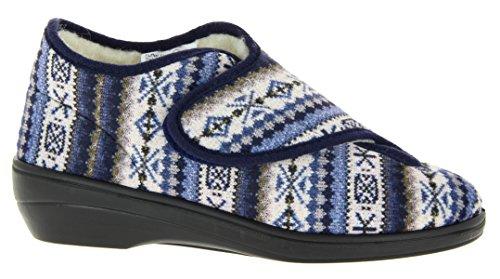 Blu Pantofole Florett Pantofole Blu Florett Pantofole marine Donna Florett marine Donna YqqPXxt