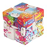 Infinity Cube Fidget Toy – Pressure Reduction Anxiety Relief Toy Killing Time for ADD, ADHD, Anxiety, and Autism Adult and Children (Colorful)
